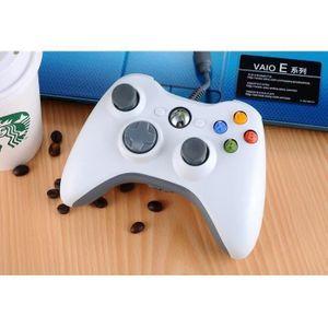 JOYSTICK - MANETTE BLANC/Manette de Jeu Filaire Xbox pour PC & Xbox 3