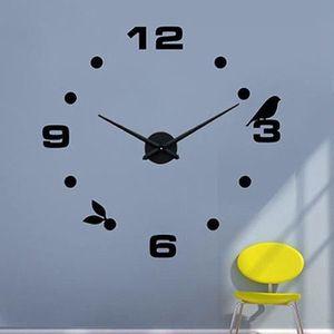 Horloge oiseaux achat vente horloge oiseaux pas cher for Decoration murale oiseau 3d
