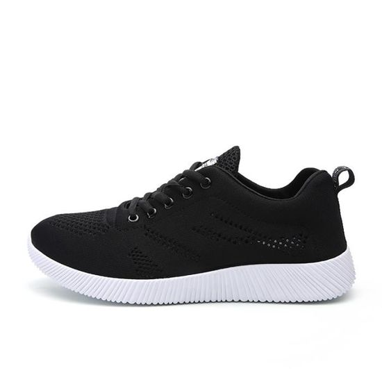 Baskets Hommes Chaussures Casual Chaussures Sneakers Noir Noir - Achat / Vente basket