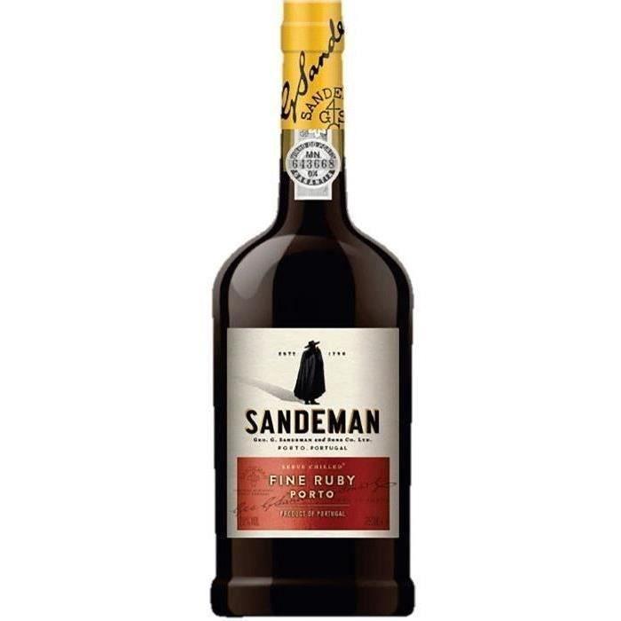 sandeman ruby porto achat vente ap233ritif 224 base de vin