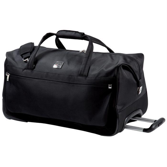 visa delsey sac de voyage trolley 65 cm soleo noir achat vente sac de voyage 3219110269710. Black Bedroom Furniture Sets. Home Design Ideas