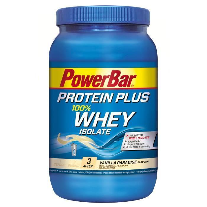 POWERBAR Protein Plus 100% Whey - Vanille - 570 g
