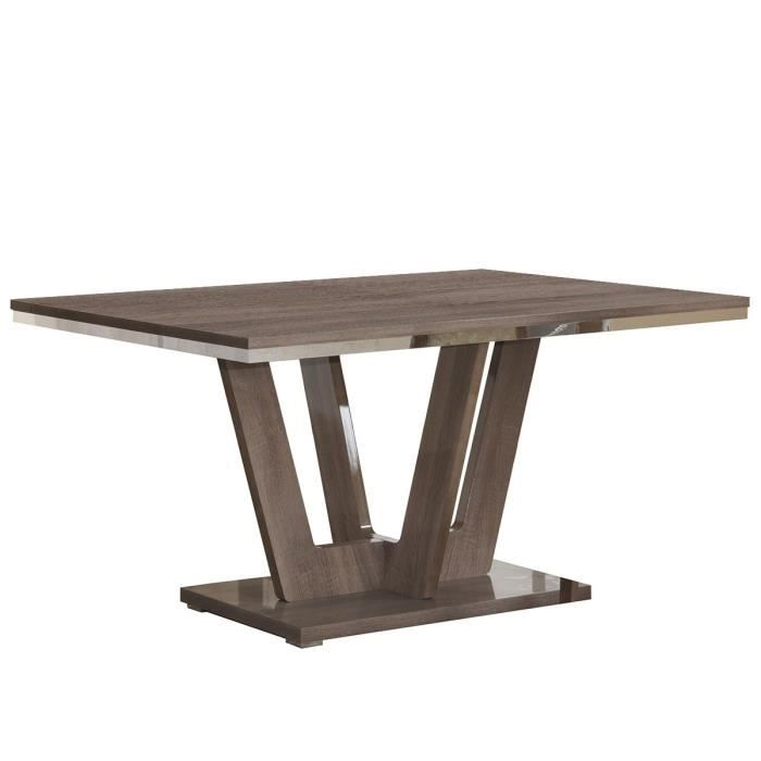 table de sejour avec pied central achat vente pas cher. Black Bedroom Furniture Sets. Home Design Ideas