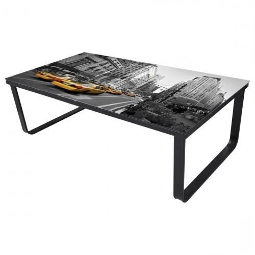 table basse design new york taxi jaune achat vente table basse table basse design new york. Black Bedroom Furniture Sets. Home Design Ideas