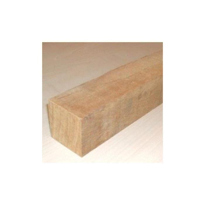 Lot de 20 lambourdes // 30ml Lambourde bois exotique pour terrasse 150 cm