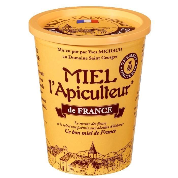 MIEL MIEL D'APICULTEUR Miel de France crémeux - 500 g
