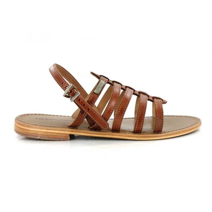 Sandale - Les tropéziennes par m belarbi - havane