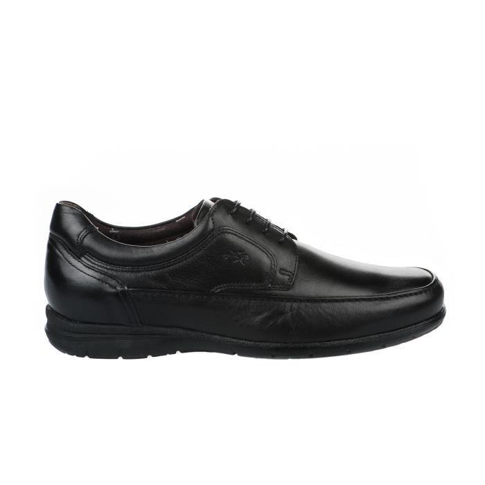 Chaussures à lacet homme - FLUCHOS - Noir - 8498 AVE - Millim