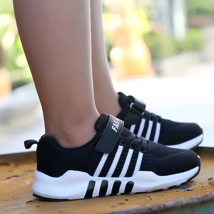 Chaussures de sport pour enfants Chaussures de course à pied respirantes