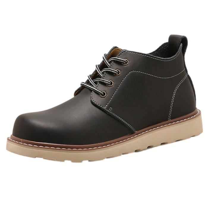 DERBY Chaussures à la main Hommes rétro chaussures de ma