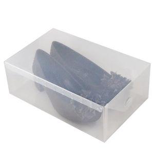 Boite A Chaussure Transparente : boite chaussure transparente achat vente boite ~ Teatrodelosmanantiales.com Idées de Décoration