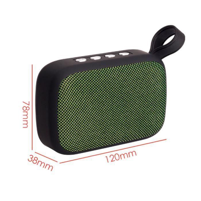 Portable Sans Fil Bluetooth Haut-parleur Stéréo Sd Fm Pour Ordinateur Smartphone Tablet Scy80804101gn