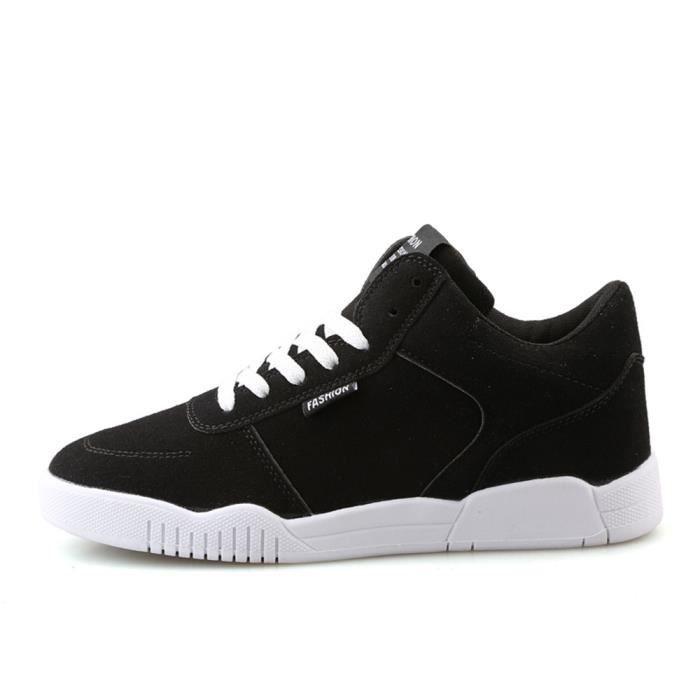 Plus Supérieure noir Nouvelle De Baskets sport Mode Marque Durable de Confortable Hommes Qualité Luxe Chaussures Taille homme HqWSBw6xxp