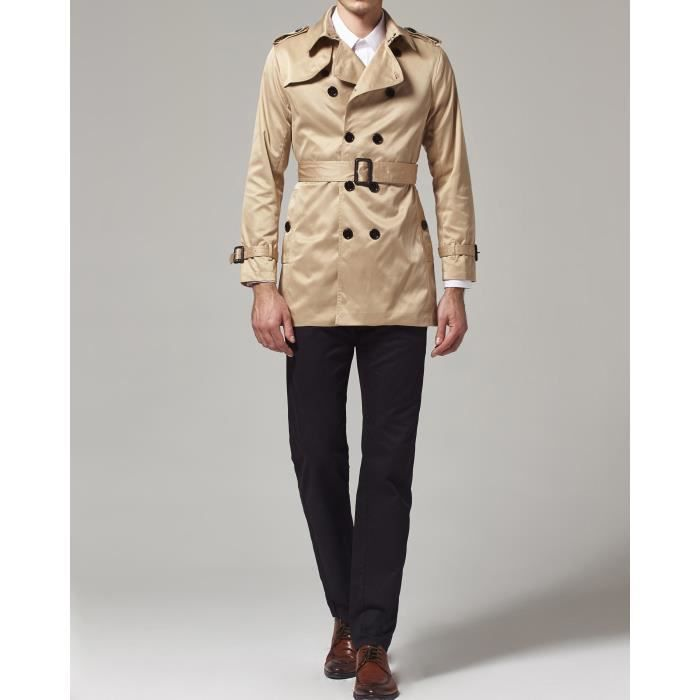 Slim Point l Taille Trench Fit Col 1tc9d2 Coat r4qrp5