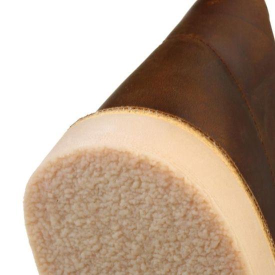 Clarks Junior Beeswax Cuir Desert Boot Boy Brown - Achat   Vente bottine -  Soldes  dès le 9 janvier ! Cdiscount bb8aedad5708