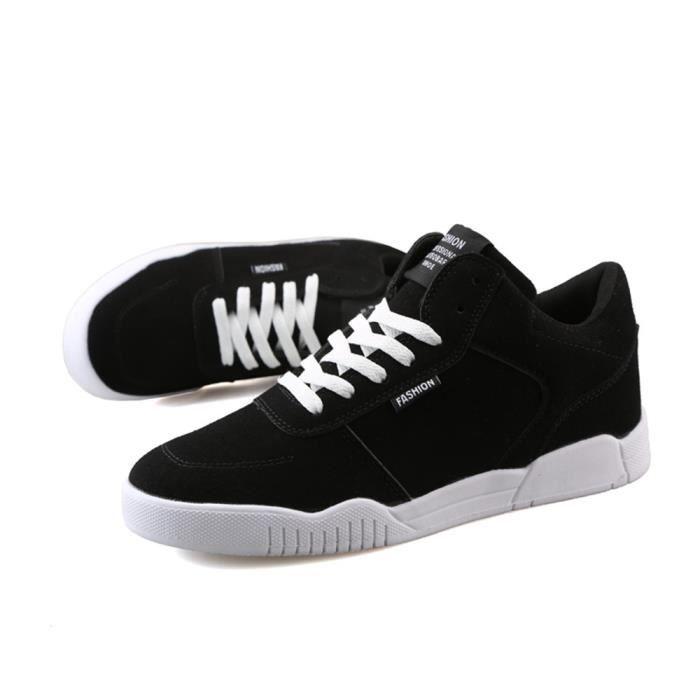 Supérieure Plus Nouvelle Mode Baskets Durable Hommes Marque Luxe Confortable Qualité Taille De de Chaussures sport noir homme wx6tTTfY