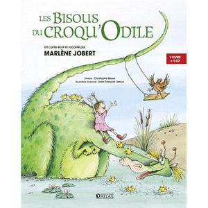 Livre 3-6 ANS Les Bisous du Croqu'Odile