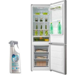 RÉFRIGÉRATEUR CLASSIQUE AMICA Réfrigérateur frigo combiné inox 295L A+ FRO