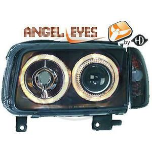 PHARES - OPTIQUES 2204480 ,  Paire de Feux Phares  Angel eyes noir p