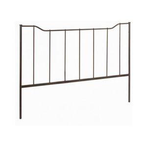 tete de lit fer achat vente tete de lit fer pas cher soldes d s le 10 janvier cdiscount. Black Bedroom Furniture Sets. Home Design Ideas