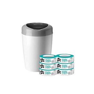 RECHARGE POUBELLE TOMMEE TIPPEE Pack Sangenic SIMPLEE 6 Recharges +