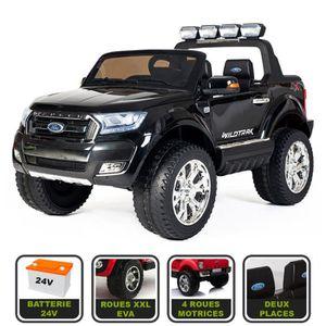 VOITURE ENFANT 4x4 électrique 24V pour enfant Ford Ranger WILDTRA
