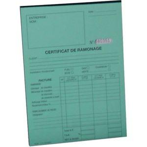 PIÈCE CHAUFFAGE CLIM Accessoire de chaufferie - Carnet de RAMONAGE