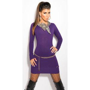 fréquent nouveaux produits pour acheter pas cher Robe pull fashion femme