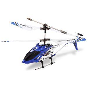 DRONE Hélicoptère Syma Bleu S107G Drone 3CH Télécommande