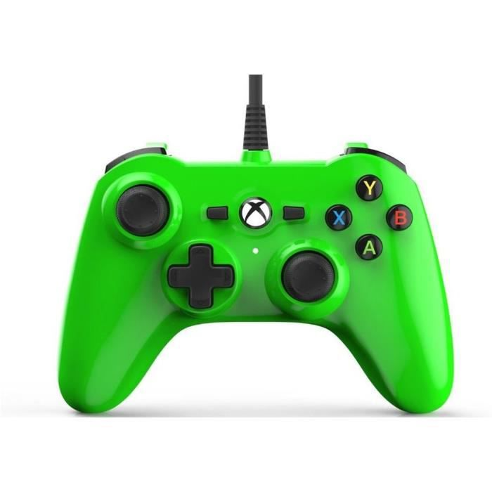 POWER A Mini Manette - Filaire - Electric Green - Xbox One