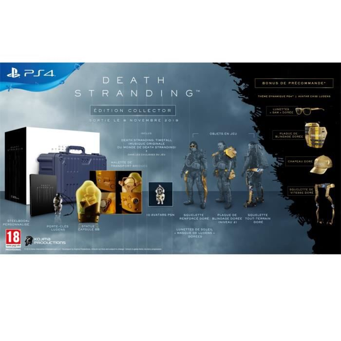 Death Stranding - Edition Collector Jeu PS4