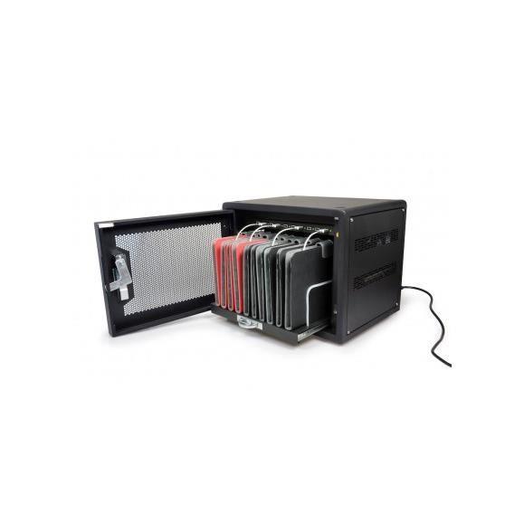 PORT Designs Cabinet de charge 901950 - 8 pouces - Pour 10 tablettes
