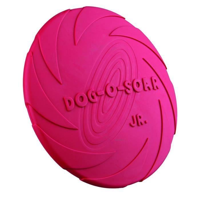 TRIXIE Dog Disc, caoutchouc naturel jeu pour chien