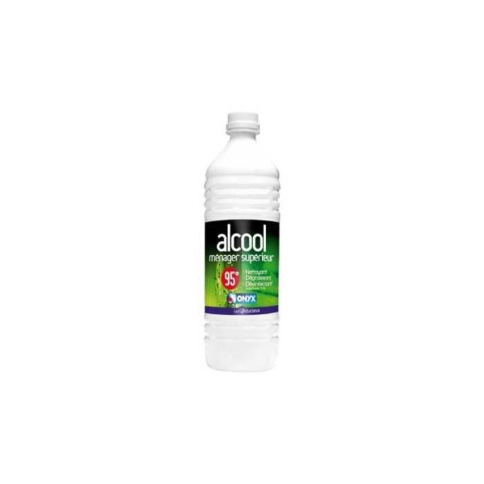 ALCOOL À BRÛLER ALCOOL MENAGER SUPERIEUR 95  - ONYX - 5 Litres
