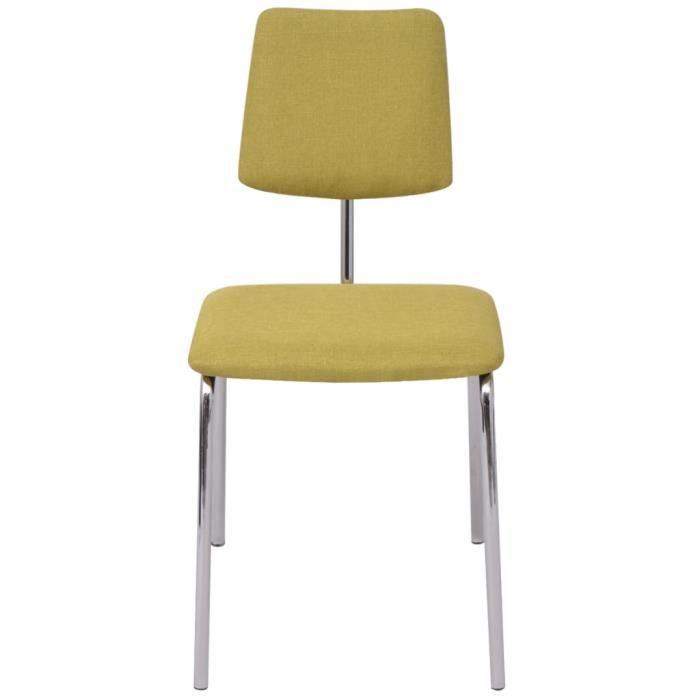 Chaises de cuisine vert achat vente chaises de cuisine for Chaises salle a manger et cuisine