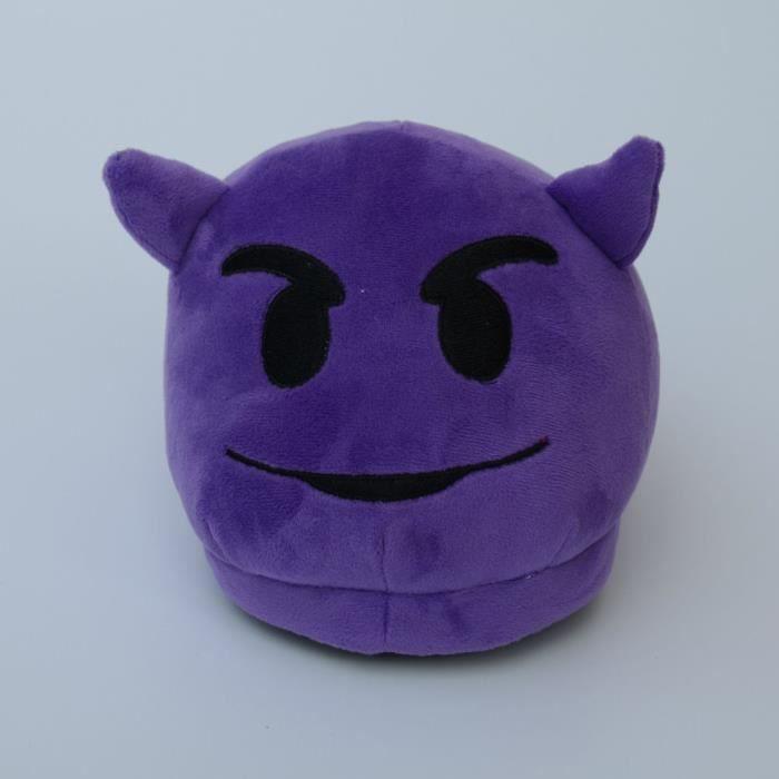 yida-world® Paire Unisexe Emoji Pantoufles Chaussons Peluche Oreiller Doux Slipper Maison Cadeau eRkKqDNg