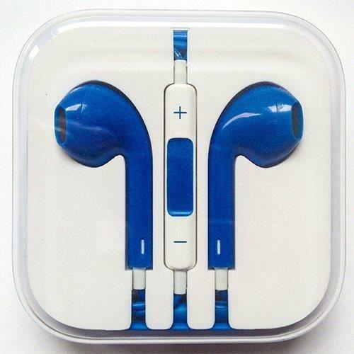 ecouteur pour iphone 5 earpods couleur bleu achat casque couteurs pas cher avis et. Black Bedroom Furniture Sets. Home Design Ideas