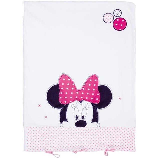 Minnie patchwork housse matelas langer 50x70cm blanc - Housse matelas a langer rose ...