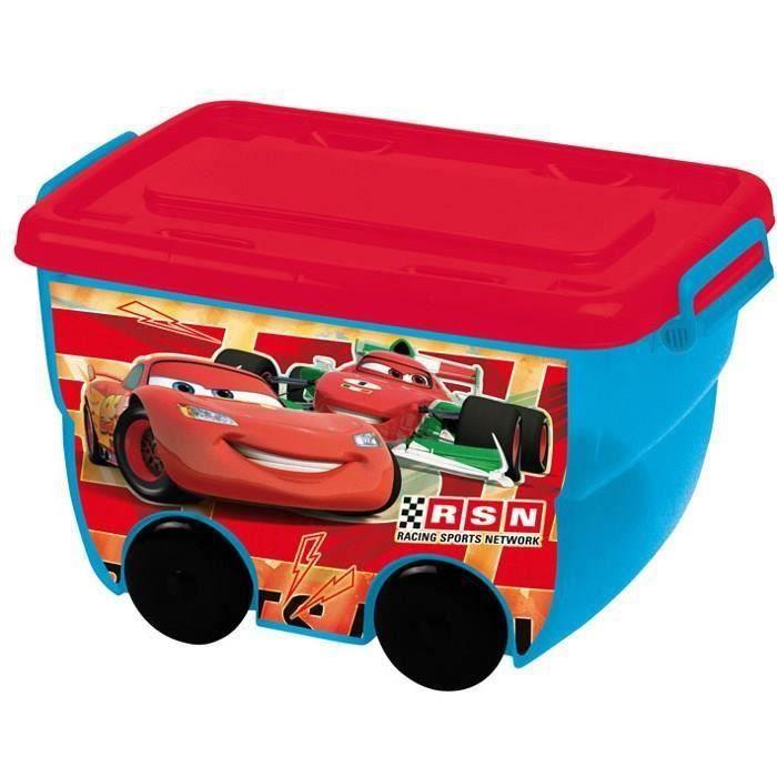 cars bac de rangement 25 l rouge et bleu achat vente petit rangement 8412497045501 cdiscount. Black Bedroom Furniture Sets. Home Design Ideas
