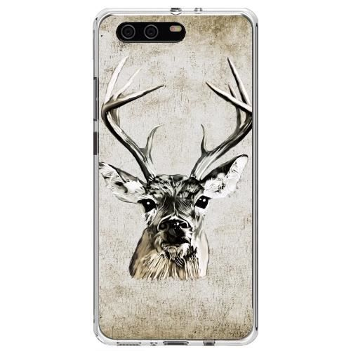 coque huawei p10 silicone cerf