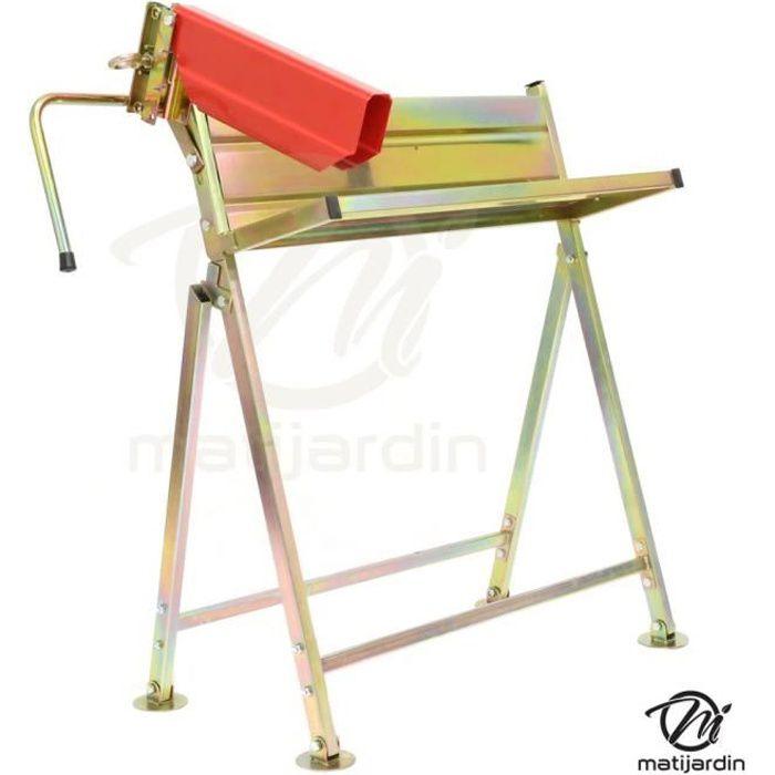 Construire un chevalet pour couper du bois excellent support taille coupe fartools pro chevalet - Support pour couper du bois ...