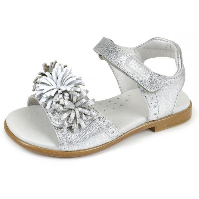 Sandales argent GARVALIN 152405D
