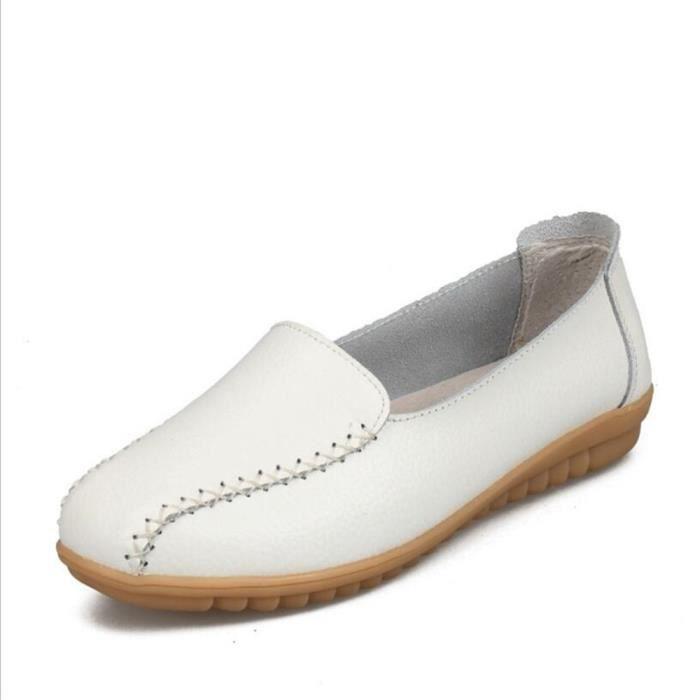 Moccasins Femmes d'été Nouvelle Mode Classique Qualité Supérieure Moccasins Grande Taille Plus De Couleur Classique chaussures