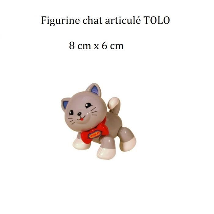 jouet chat fille