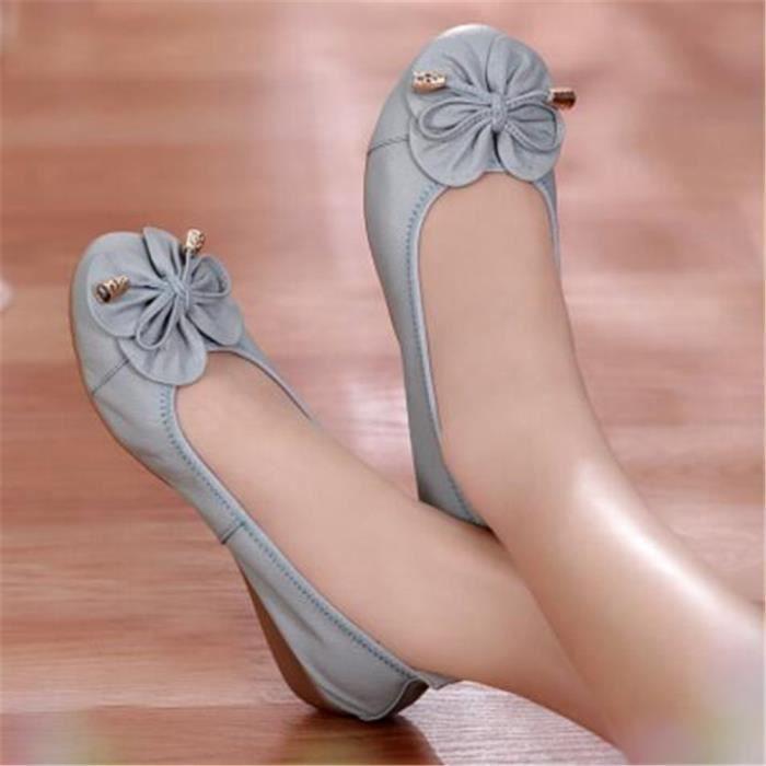 Chaussures Printemps Mode Cuir Comfortable XZ067Vert38 BMMJ Été Chaussure Femme aqwxYnAAf