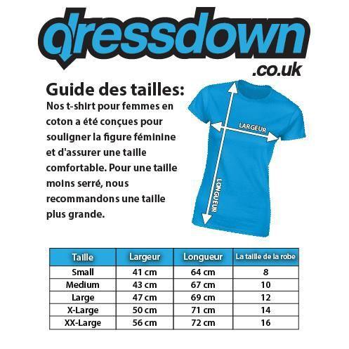 Adulte De T Pour Femme Mort Tête Fleur Dressdown shirt Hp6RqR