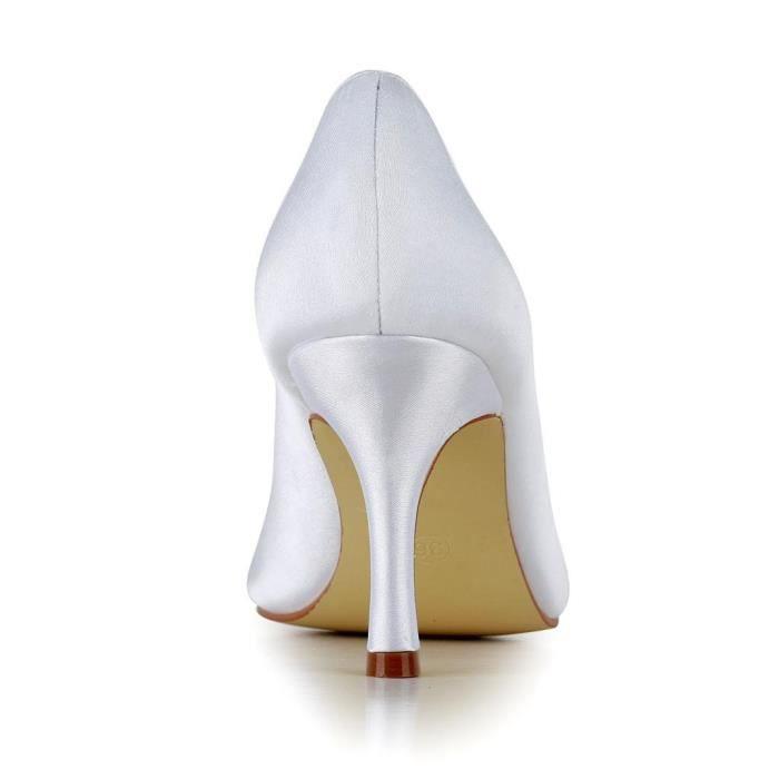 Jia Jia Wedding A3129 chaussures de mariée mariage Escarpins pour femme