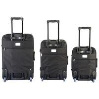 SET DE VALISES Set de 3 valises trolley bagages voyage souples 2