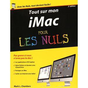 LIVRE MATERIEL INFO Tout sur mon iMac pour les nuls. 2e édition