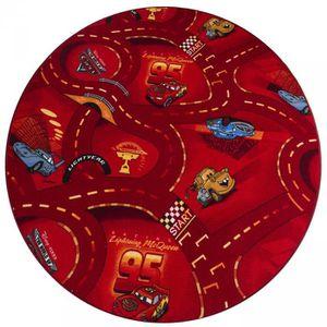 Tapis Rond Rouge Cm Achat Vente Pas Cher - Carrelage salle de bain et tapis rond rouge 160